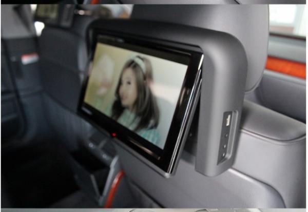 Автомобильные мониторы в подголовник