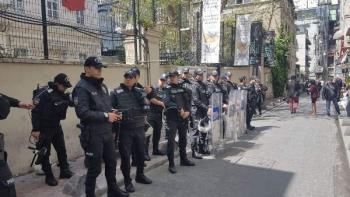Геноцид армян акция в Стамбуле