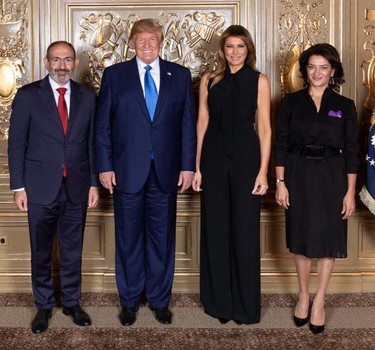 Никол Пашинян и Дональд Трамп