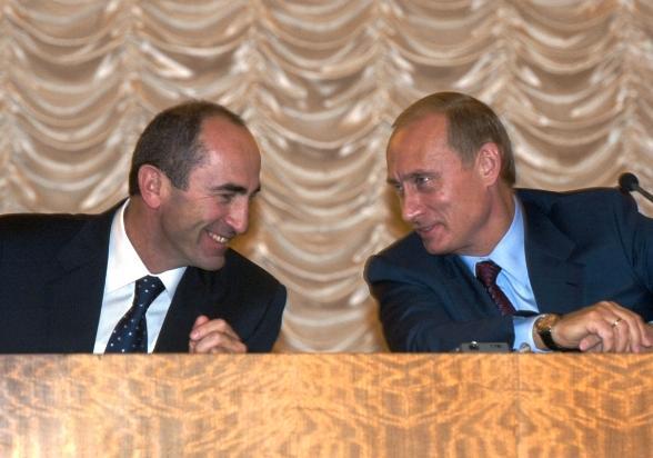 Владимир Путин и Роберт Кочарян пообщались в дистанционном режиме