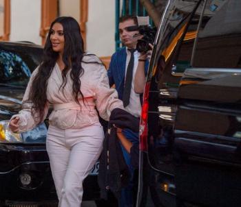 Ким Кардашьян в Армении