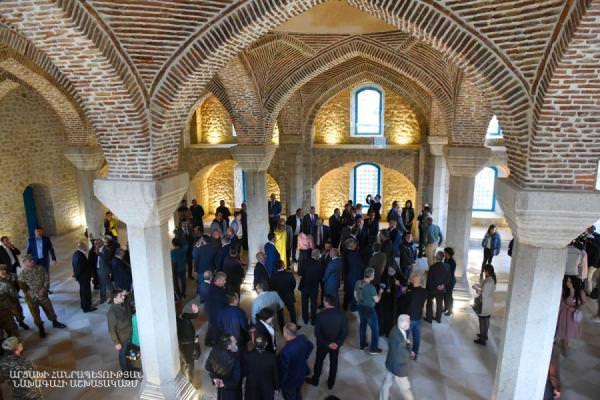 мечеть в Шуши открытие