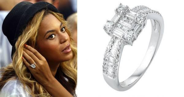 Кольцо на пальце Бейонсе
