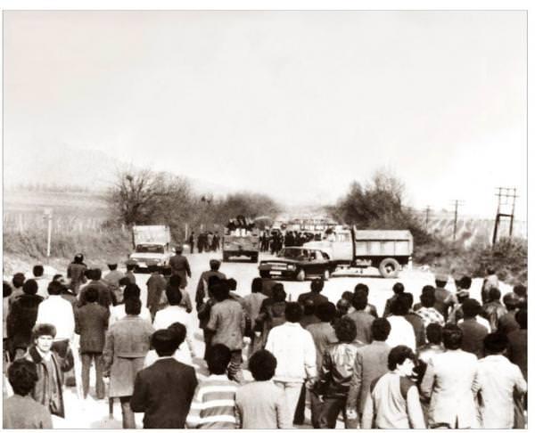 остановка толпы из Агдама
