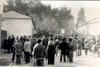 погромы Кировабад Армянская Церковь 1988 год