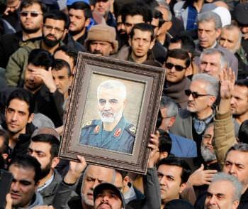 Касем Сулеймани траур Иран