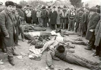 геноцид армян в Баку погромы армян в Баку