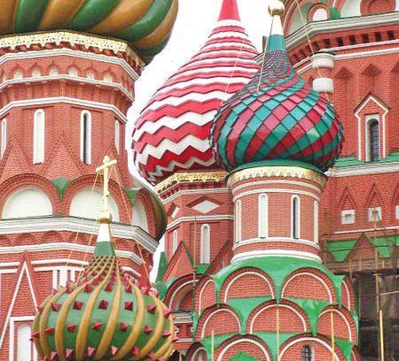 купола на русских церквях