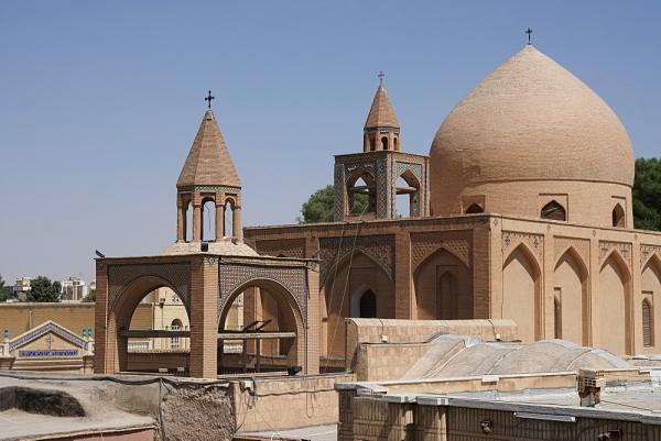армянский собор Исфагана
