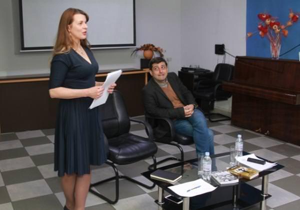 Елена Шуваева-Петросян и Ованес Азнаурян