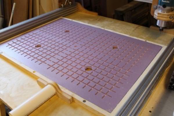 Вакуумный стол для ЧПУ-станков