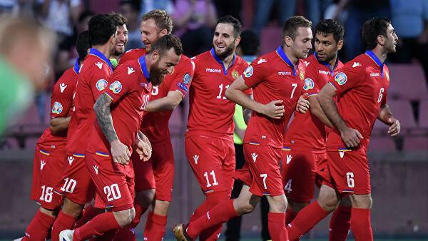 сборная Армении по футболу 2019