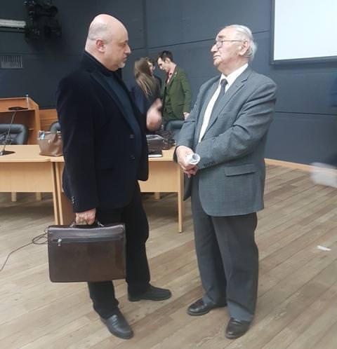 Рубен Киракосян и профессор Сурен Авакян