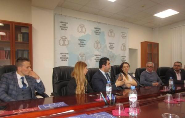 Круглый стол АРМРОСС для армянских врачей