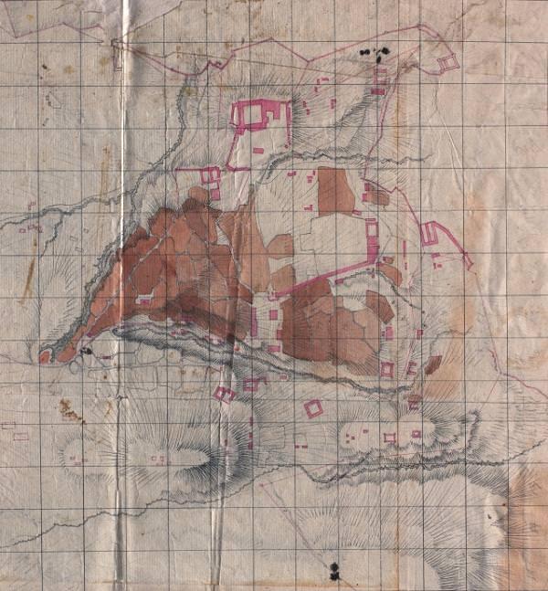 Первый план Шуши начала XIX века