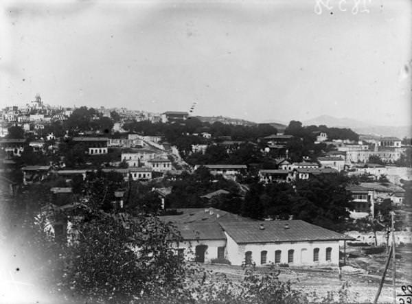 Вид на развалины квартала Веринтаг из нижней части города 1950-е гг Из архивов РКАФД