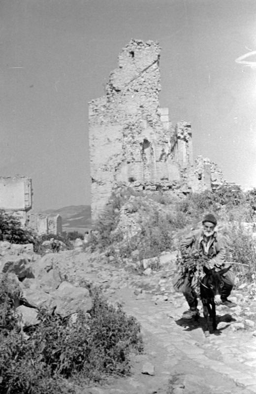 Руины Шуши Фото из фондов РАКФД