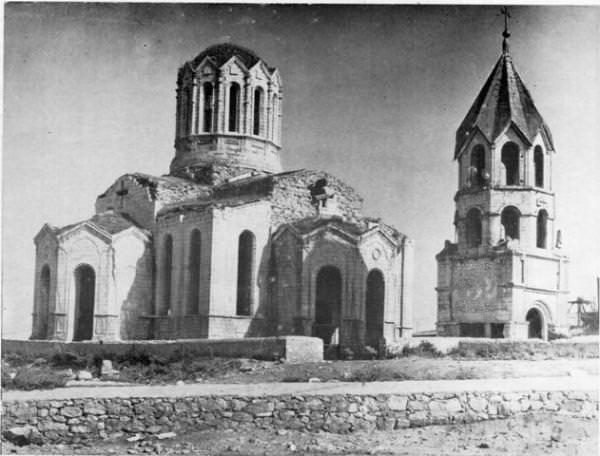 Храм Газанчецоц (Сурб-Аменапркич) в 1970-х гг