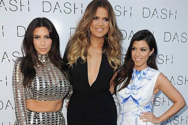 Ким Кардашьян с сестрами