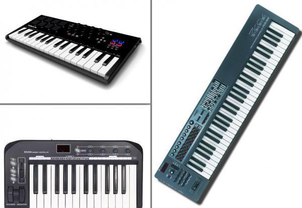 миди клавиатуры в магазине музлайн киев