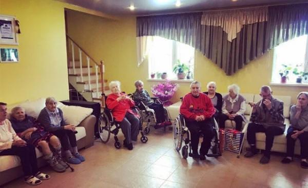 пансионат для ухода за пожилыми и больными людьми