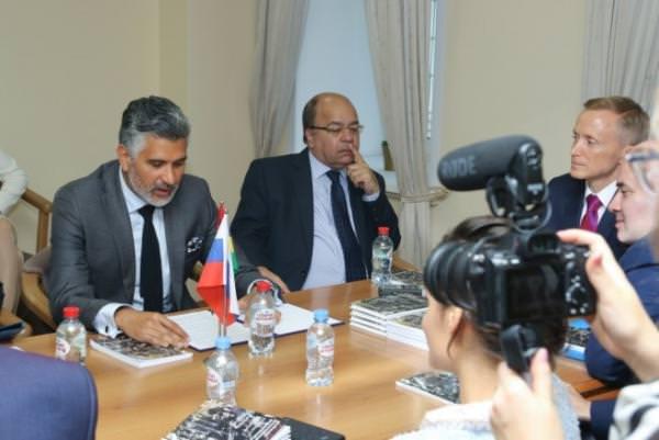 Презентация книги в посольстве Маврикии