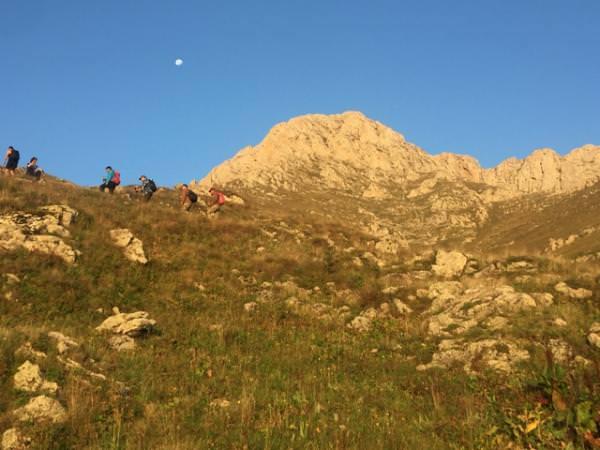 Восхождение Победы на гору Хуступ