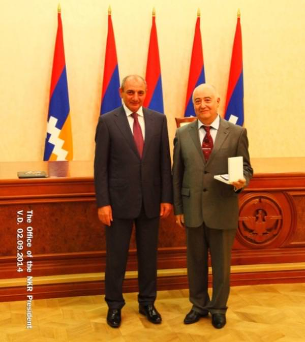 Рубен Осипов и Бако Саакян