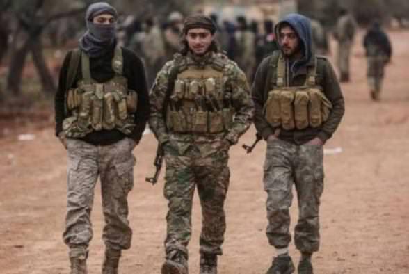 сирийские боевики в Азербайджане
