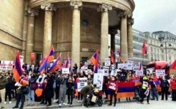 акция протеста Лондон