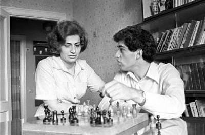 Клара Каспарова и Гарри Каспаров