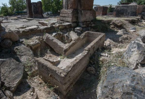 Раскопки в селе Ахцк