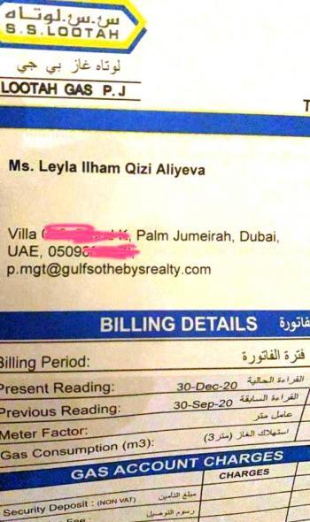 Лейла Алиева документы на недвижимость в Дубай