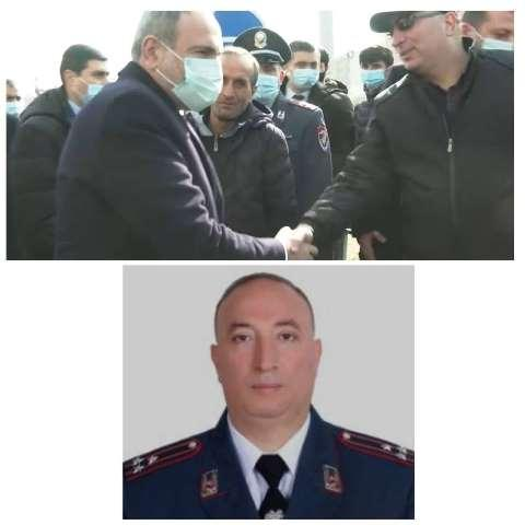 Никол Пашинян и Давид петросян в Арташате