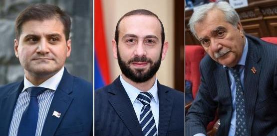 Арман Бабаджанян Арарат Мирзоян Андраник Кочарян