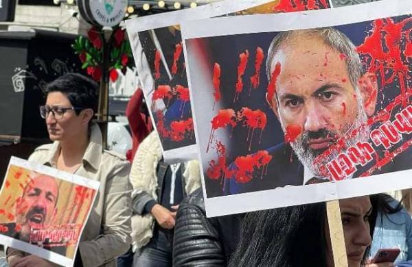 акция протеста Ереван