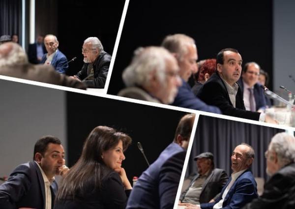 Роберт Кочарян встреча с интеллигенцией