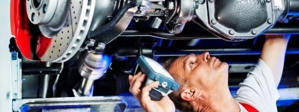 Восстановление деформированных рам грузовиков и прицепов