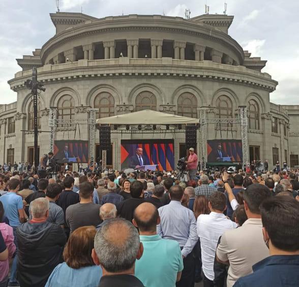 митинг альянса Армения