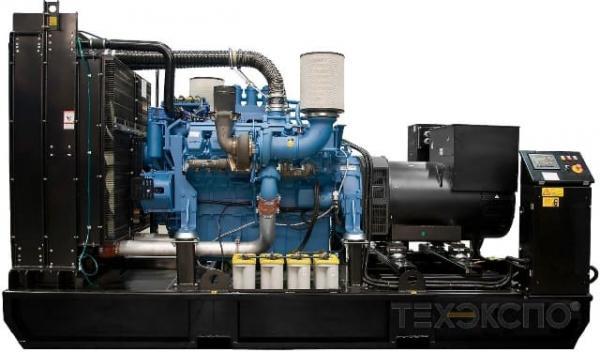 Дизельная электростанция Техэкспо ТЭ.800С-Т400-2РН MTU