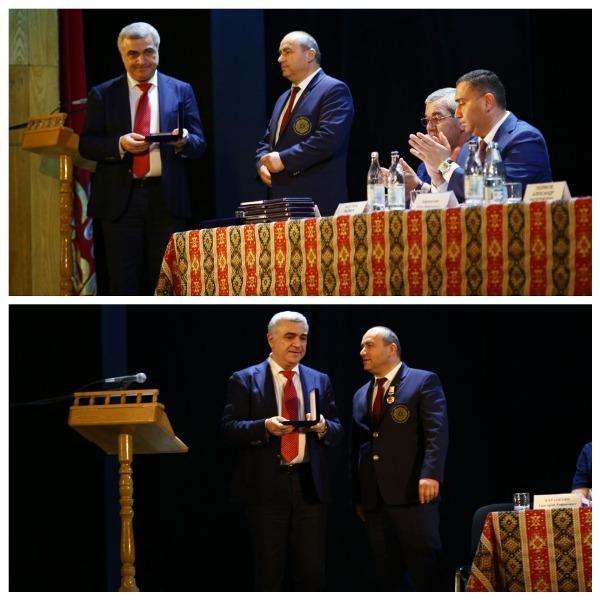 награждение Григорий Карапетян