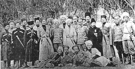 казаки на кавказском фронте