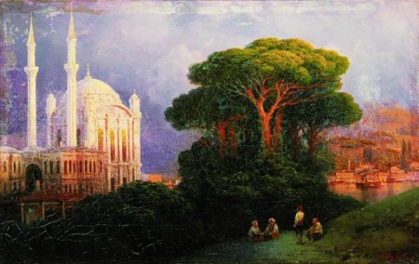 Иван Айвазовский. Вид Константинополя